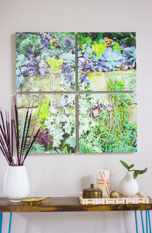 How to Turn a Photo into Canvas Wall Art | Design Improvised