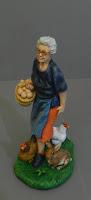 pastorelli presepe fatti a mano statuine presepio coniglio orme magiche