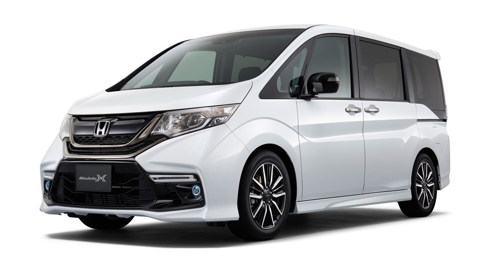 new honda step wgn modulo x proves minivans don 39 t have to be boring. Black Bedroom Furniture Sets. Home Design Ideas