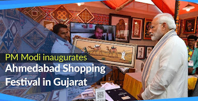 PM Modi inaugurates the Ahmedabad Shopping Festival-2019