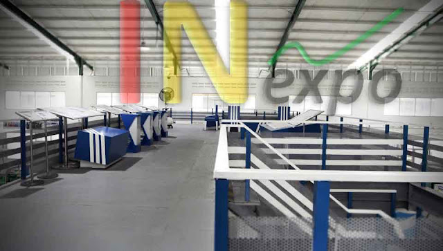 SKY BRIDGE ADIDAS AT ADIDAS FACTORY SERANG BANTEN Inexpo Konrtaktor Booth Pameran