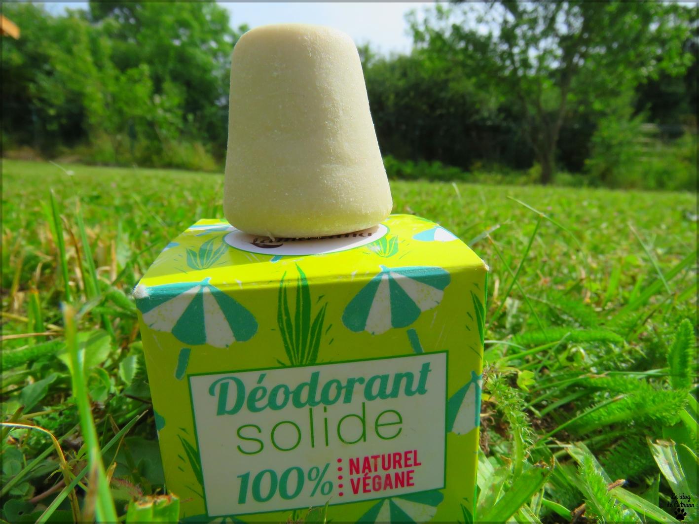 Déodorant Solide - 100% Naturel & Végane - Lamazuna