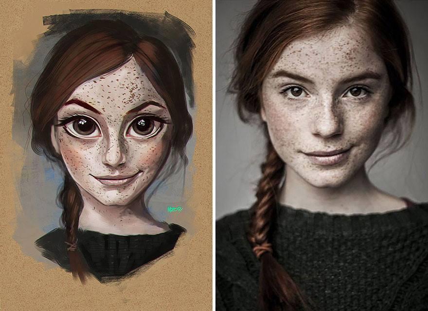 fotos transformadas em caricatura 11 - Pessoas transformadas em Caricaturas