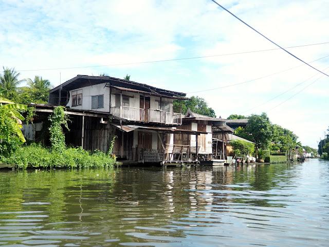 Canal khlong tour in Bangkok, Thailand