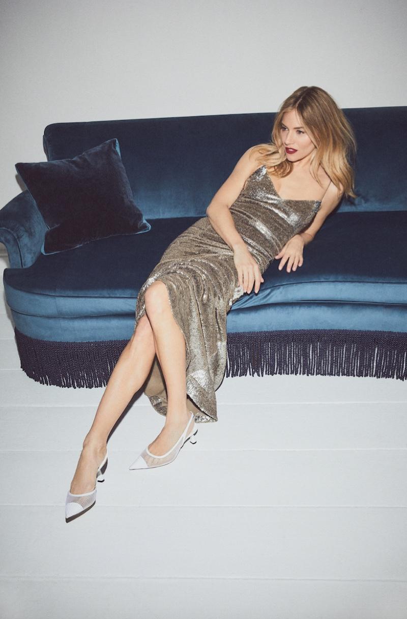 Sienna Miller wears Jimmy Choo Fetto pumps