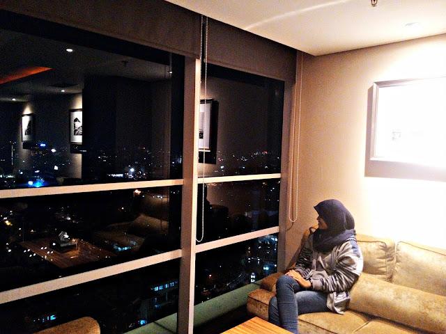 Lantai 21 di hotel Best Western Premier La Grande