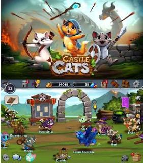 Castle Cats Apk Mod Unlimited Gold/Gems v1.8.4 Terbaru