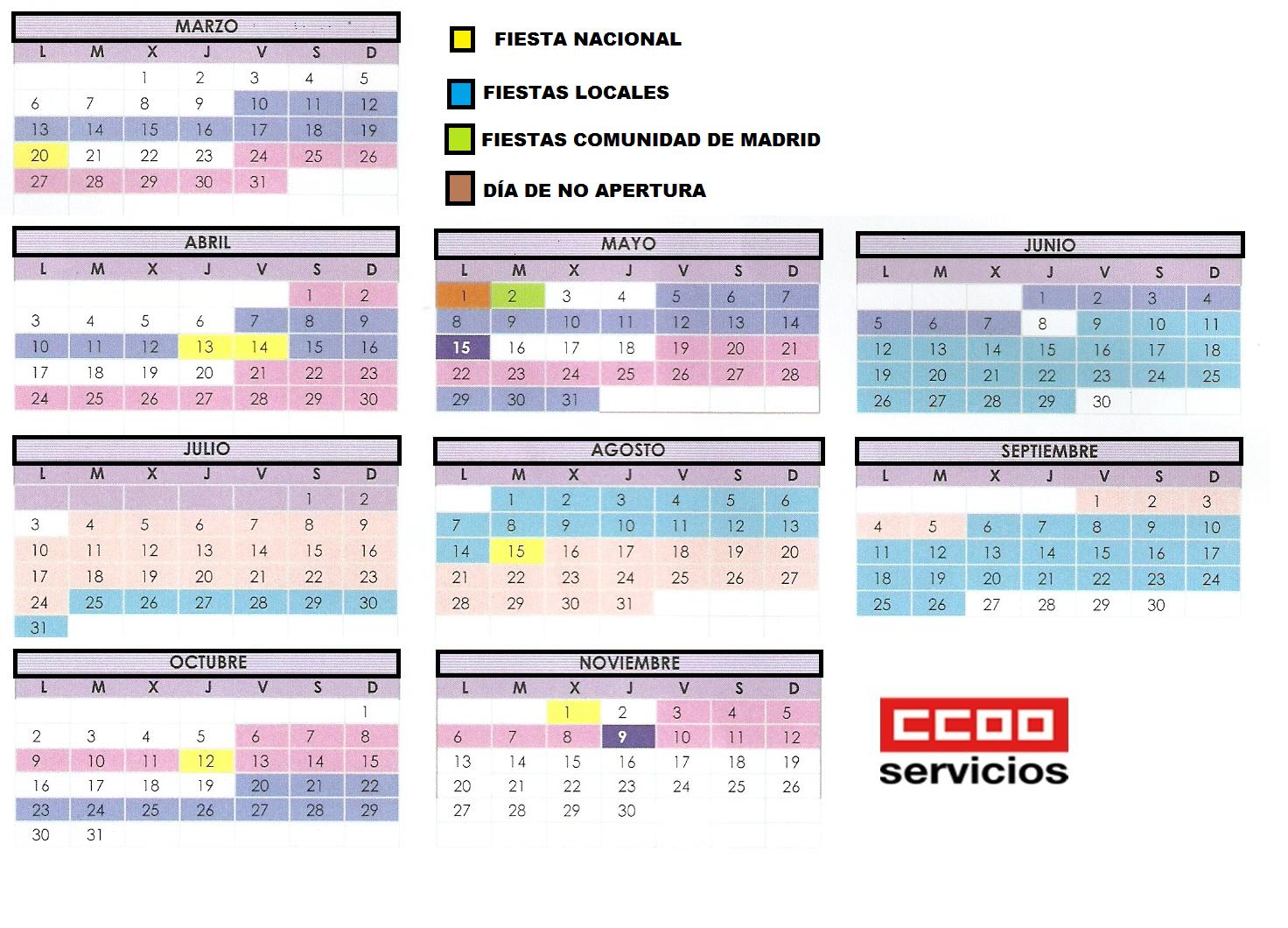 El peri dico de ccoo servicios en el corte ingl s de goya - Blancolor el corte ingles 2017 ...