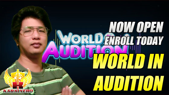 World In Audition Philippines Is Now Open