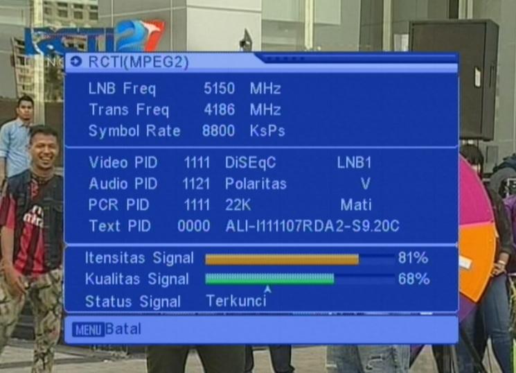 Upgrade Tv Siaran Acak Tanaka