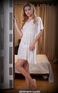 Naughty Girl - Sexy Naked Girl Genevieve Gandi - 1