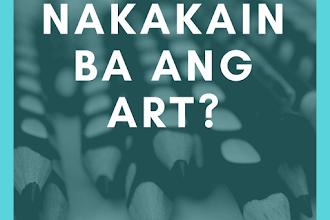 Nakakain ba ang 'art'?