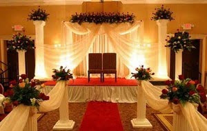 Fancy Wedding Stage Decoration Wedding Dresses Simple Wedding