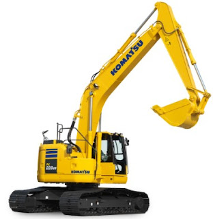 hydraulic excavator komatsu