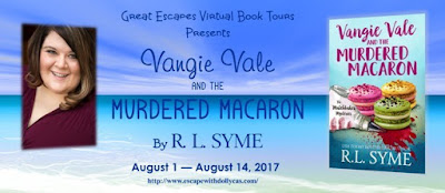 Spotlight (+ Tour GIVEAWAY): Vangie Vale and the Murdered Macaron