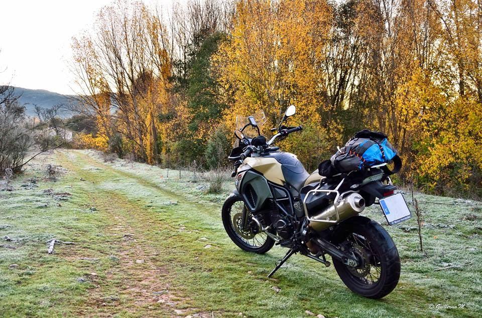 BMW GS 800 adv. Trail Forever. Sierra de Ayllon