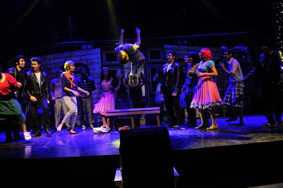 Grease The Musical Pakistan - The school dance scene