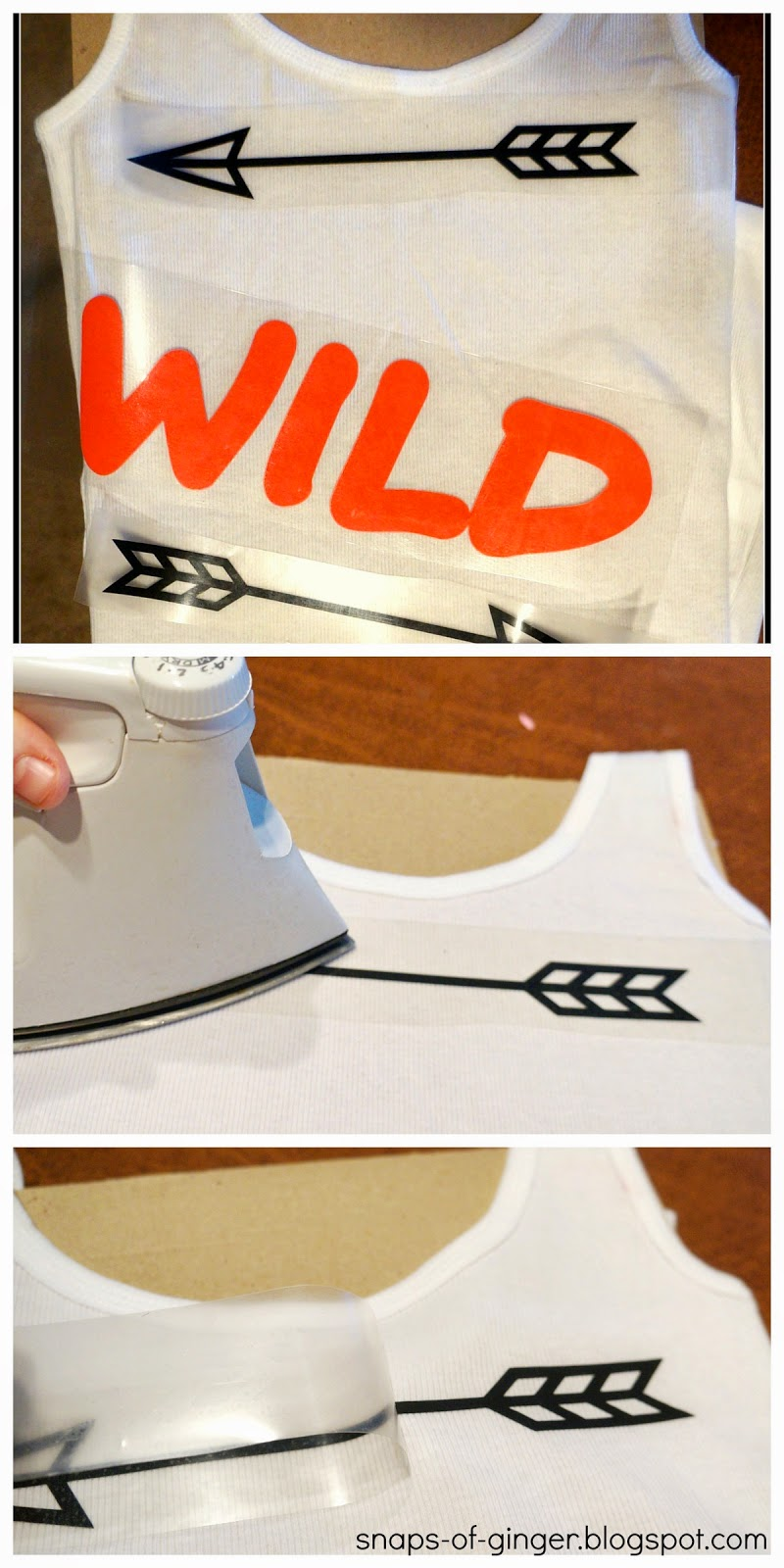 Snaps Of Ginger Wild Graphic Tanks