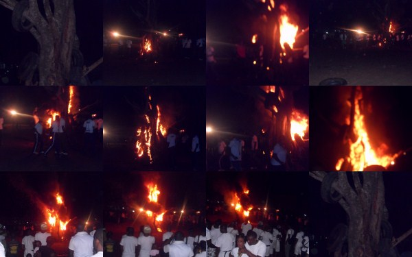 nysc camp fire night