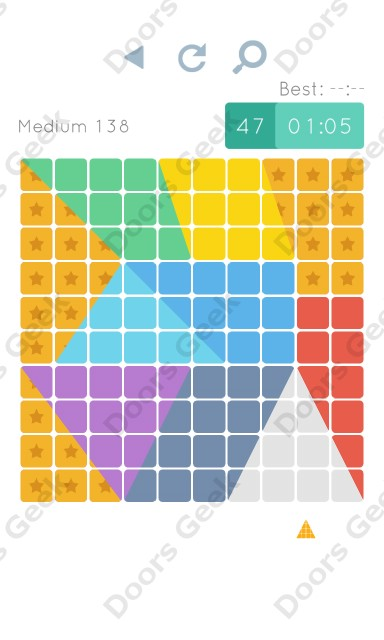 Cheats, Walkthrough for Blocks and Shapes Medium Level 138