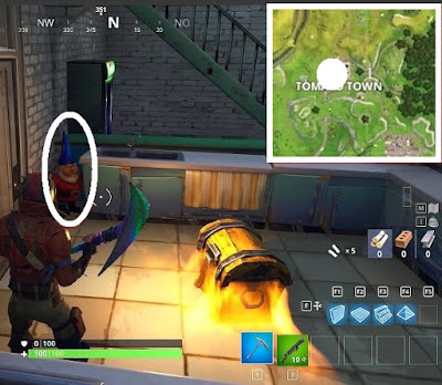 Fortnite, Battle Royale, Hungry Gnomes, Locations Guide, Tomato Town