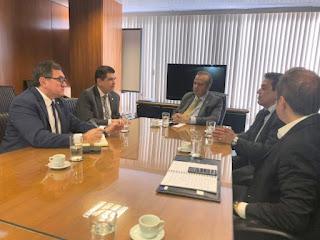 Resultado de imagem para Mauro Filho apresenta plano para a reforma da previdência a secretário de Bolsonaro