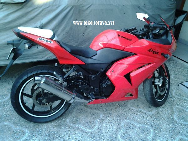 Dijual Motor Kawasaki Ninja 250 R 2009
