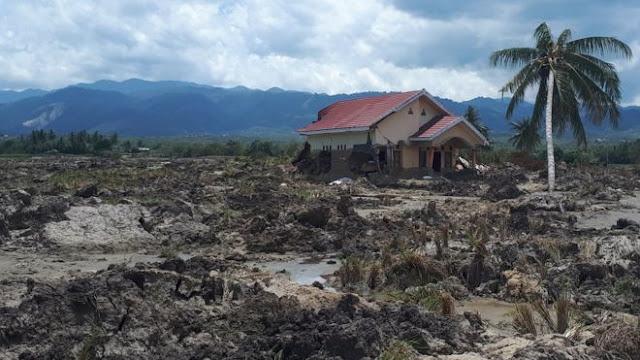 Pascagempa, Rumah Warga di Sigi Diterjang Banjir Lumpur