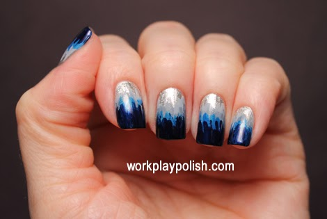 Dip Dye Nails: Sally Hansen Celeb City and Zoya Kristen, Skylar, Tallulah and Ibiza