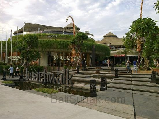 Beachwalk mall Kuta Bali Indonesia