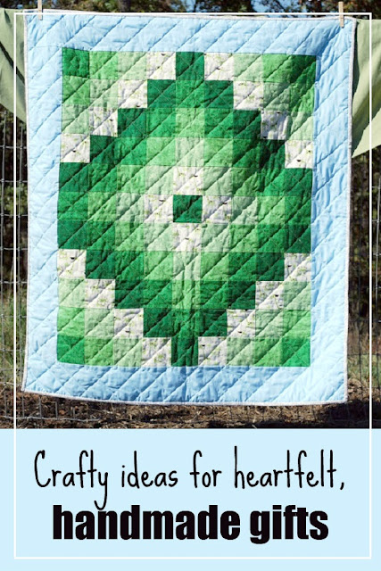 Handmade gift ideas and inspiration; turn your hobbies into gifts from the heart!