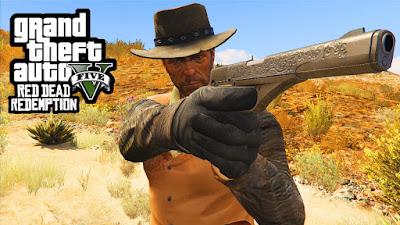 המוד של מפת Red Dead Redemption עבור GTA V בוטל בגלל Take-Two