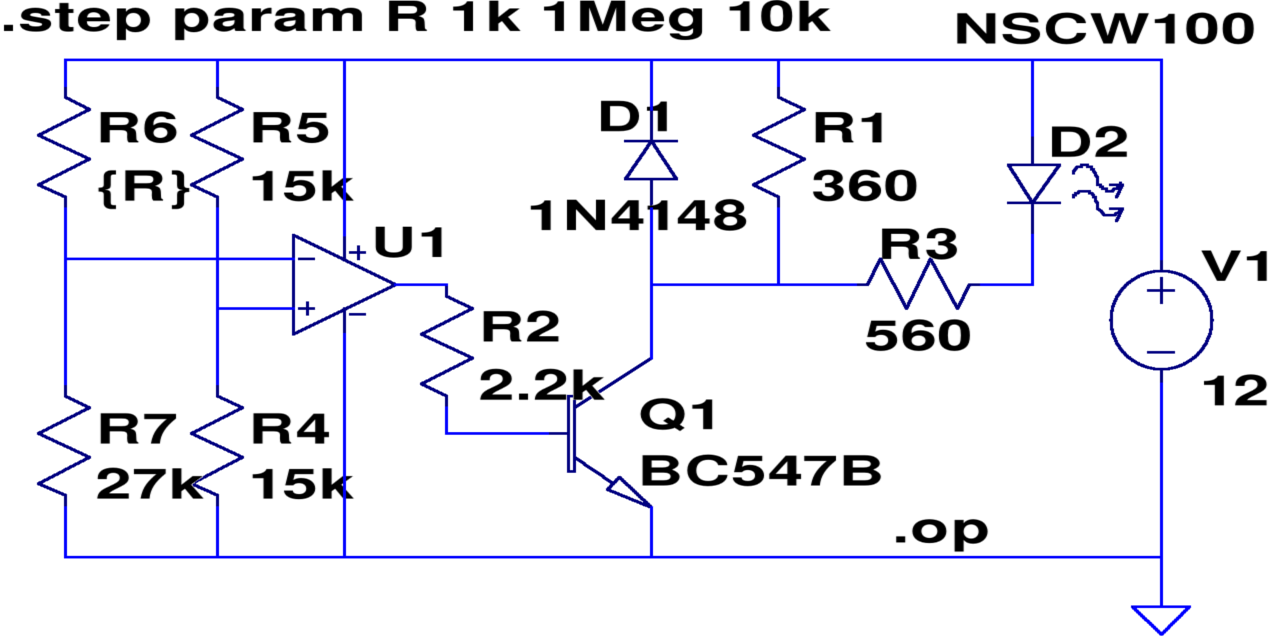 Free EDA: Good looking schematics using TinyCAD · One Transistor