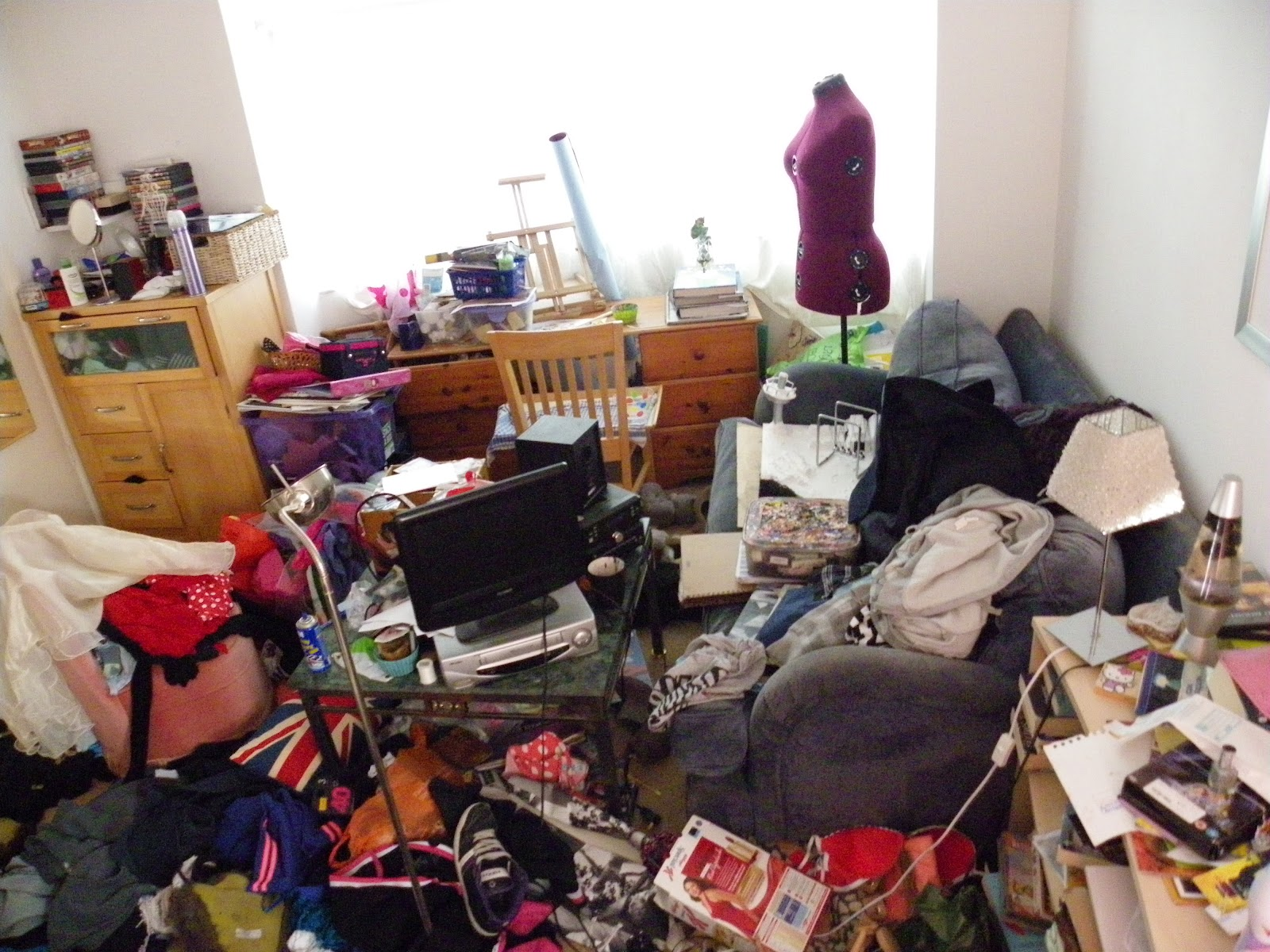 Sammies Mutteringsysis Of A Messy Bedroom Part 1
