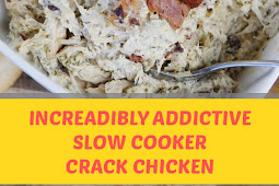 Incredibly Addictive Slow Cooker Crack Chicken