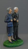 statuette idea regalo genitori nonni anniversario orme magiche