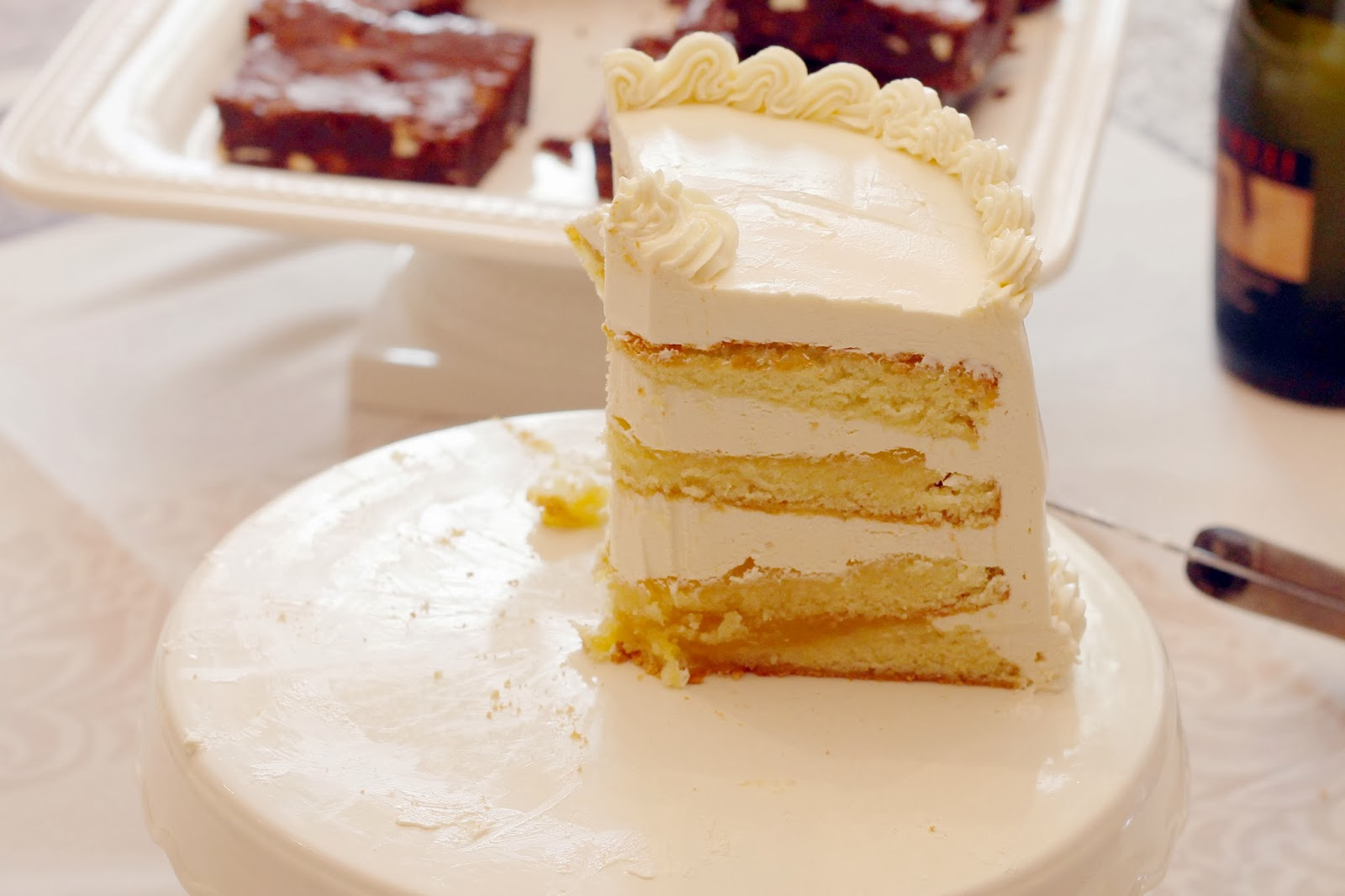 Recipes Lemon Layer Cake: Champagne Reveries: Prosciutto Wrapped Figs With Goat