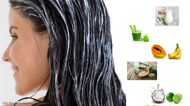 5 Bahan Alami Untuk Meluruskan Rambut Permanen