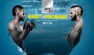 Ver UFC Fight Night 140: Magny vs Ponzinibbio En vivo En Español Online