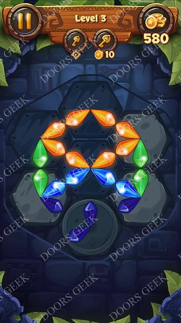 Gems & Magic [Emerald] Level 3 Solution, Walkthrough, Cheats
