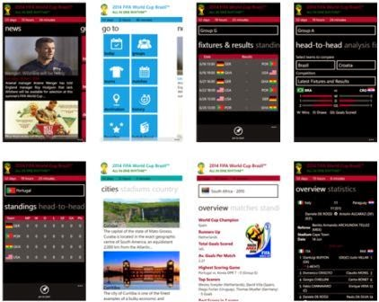 Aplikasi Windows Phone Jadwal Piala Dunia 2014 Gratis