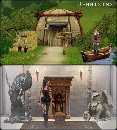 My Sims 3 Blog Sims Medieval Conversions By Jennisims