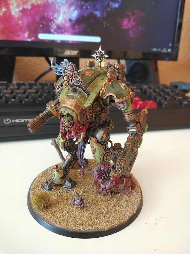 What's On Your Table: Renegade Death Guard Armiger