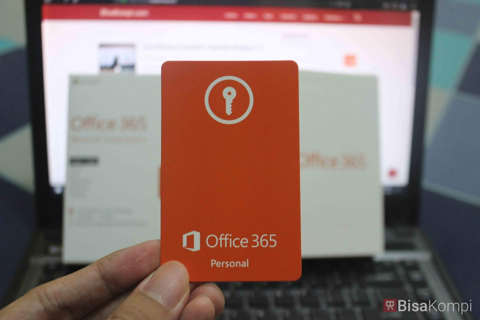 Unboxing Microsoft Office 365 Personal Subscription