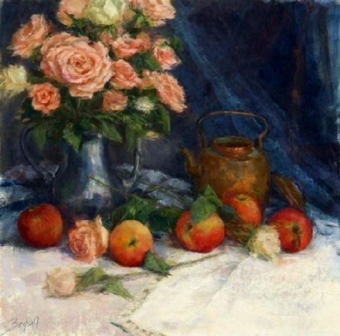 Цветочные картины. Stephanie Birdsall 3