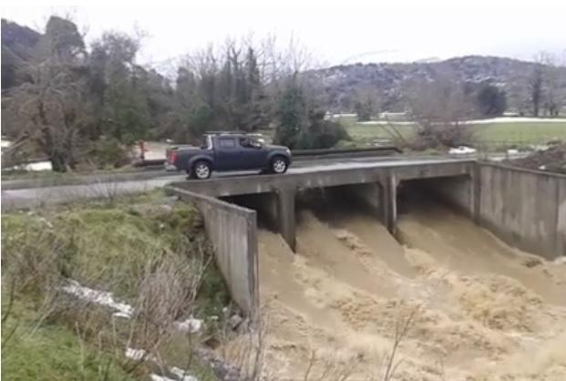Θεσπρωτία: Διακοπή κυκλοφορίας λόγω κατολίσθησης στην Θεσπρωτία