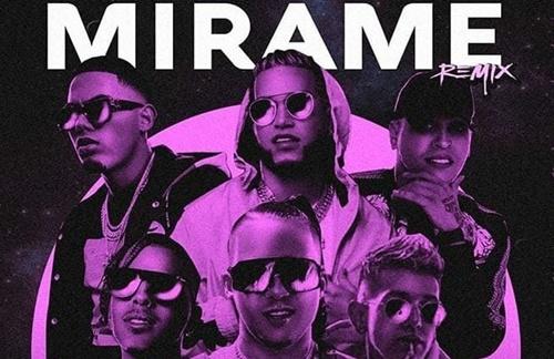 Rauw Alejandro & Nio Garcia & Lenny Tavarez & Darell & Myke Towers & Casper Magico - Mirame (Remix)