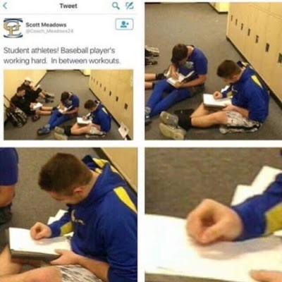 Funny student pic