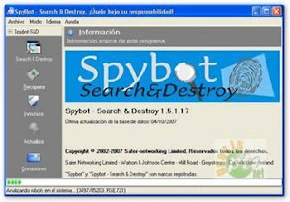 Free Download Spybot - Search & Destroy