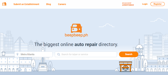 Convenient car servicing made possible through beepbeep.ph